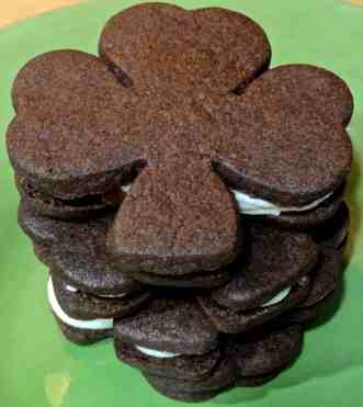 Chocolate Shamrocks 14
