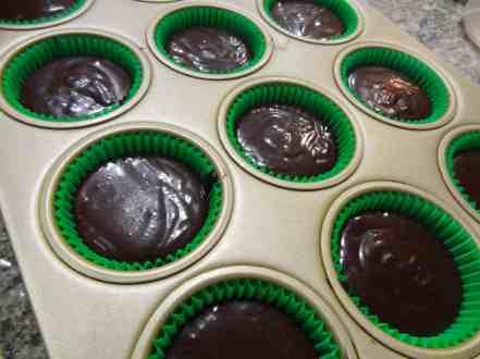 Chocolate Irish Cream Cupcakes 6