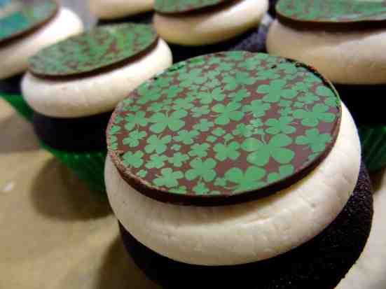 Chocolate Irish Cream Cupcakes 9