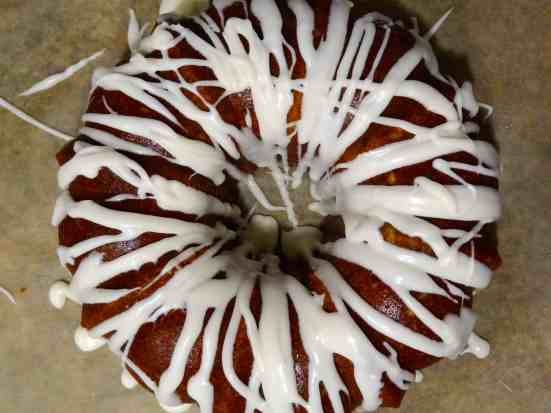 Triple Rum Pepper Cake