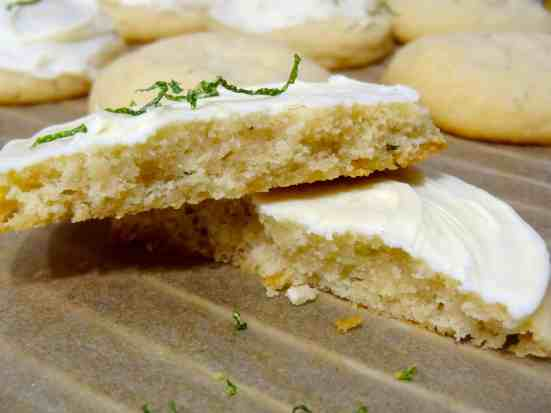 Lime Tarragon Cookies - 24