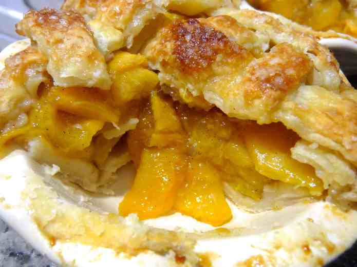 Peach-Vanilla Bean Pie - 32