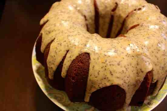 Poppy Seed Pound Cake - 05