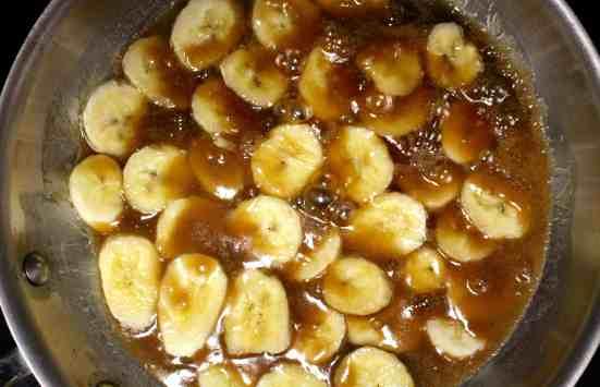 Chocolate Banana Tart - 12