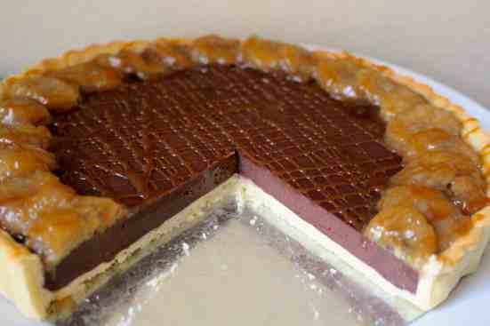 Chocolate Banana Tart - 26