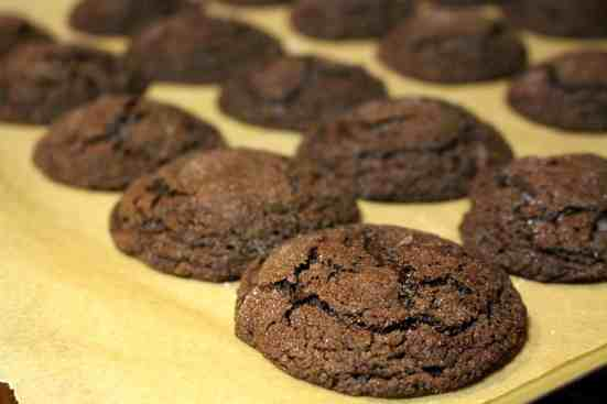 Chocolate Mint Cookies - 5