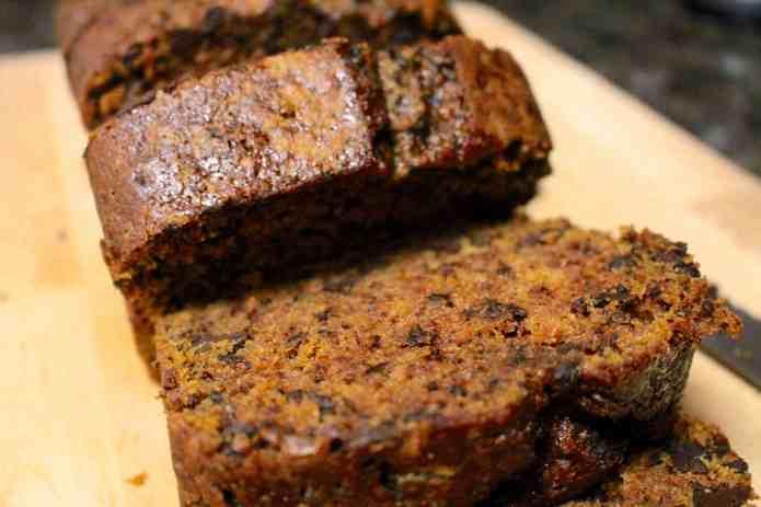 Choc Chunk Pumpkin Bread Pudding - 12
