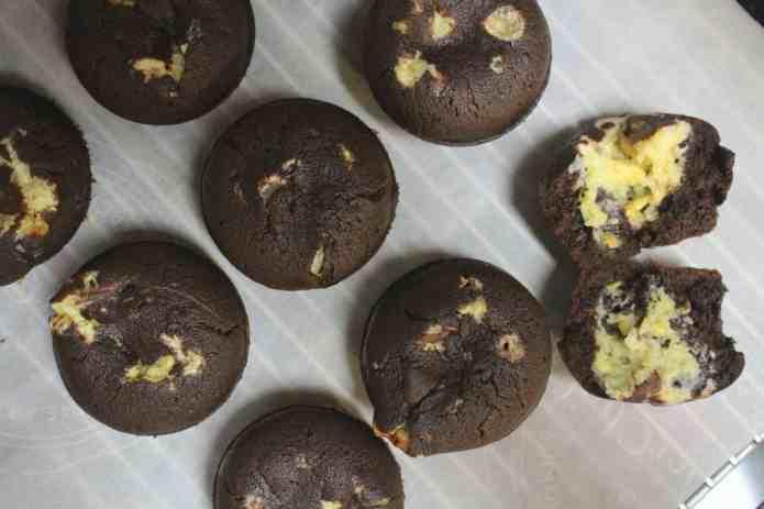 Chocolate Cheesecake Muffins - 13