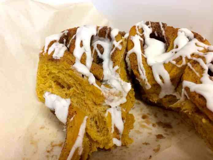 Pumpkin Cinnamon Rolls - 21
