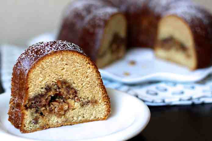 Toffee Coffee Cake Surprise - 26