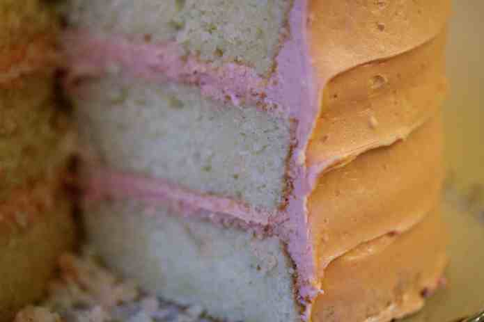 Vanilla Pomegranate Cake - 39