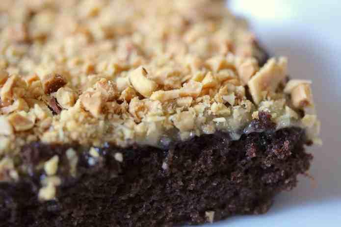 Chocolate Texas Sheet Cake - 25