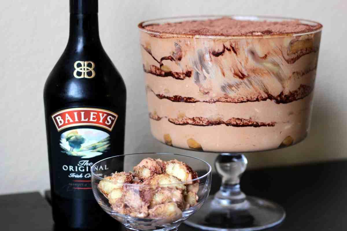 St. Patrick's Italian Escapade: Irish Tiramisu Trifle