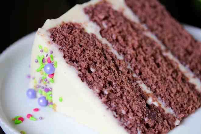Purple Velvet Cake - 53