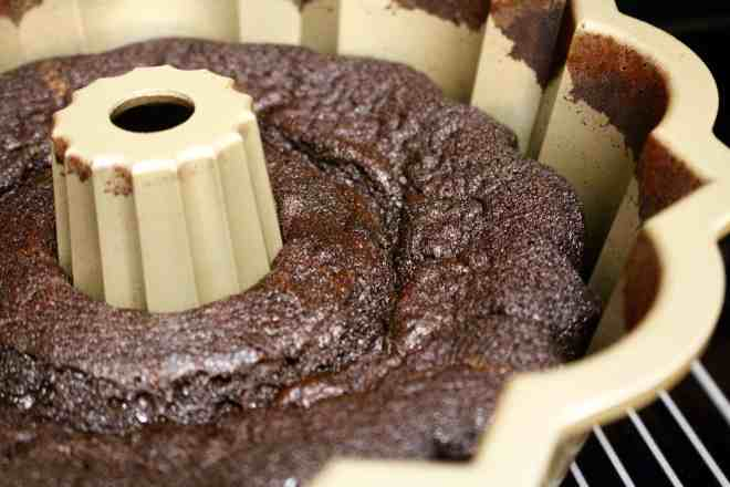 Black Cocoa Bundt Cake - 17