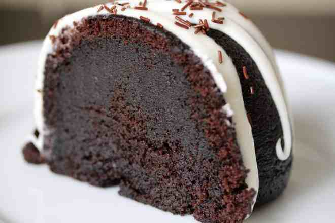 Black Cocoa Bundt Cake - 35