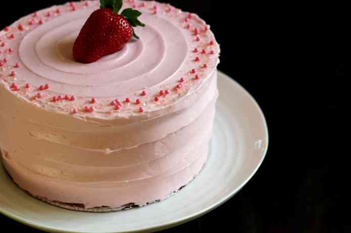 Strawberry Supreme Cake - 43