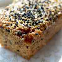 Twice as Nice: Double Sesame Banana Bread