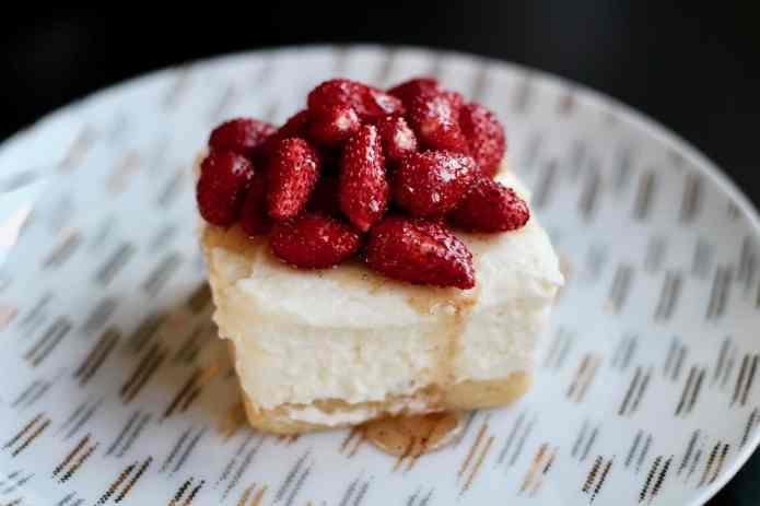 Wild Strawberry Ricotta Cheesecakes - 27