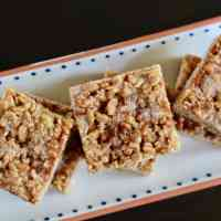 Cinnamon Cajeta Rice Crispy Treats