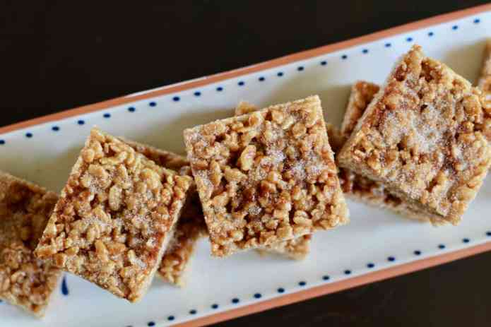 Cinnamon Cajeta Rice Crispy Treats - 27
