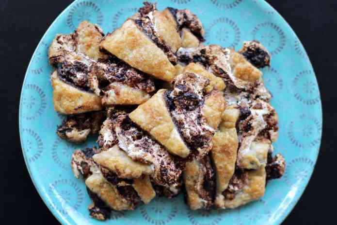 S'mores Rugelach Smash Cookies - 15