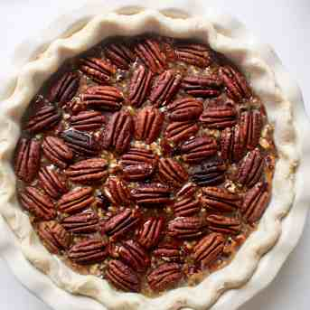Bourbon Chocolate Pecan Pie - 15