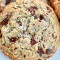 Triple Sesame Oatmeal Chocolate Chunk Cookies