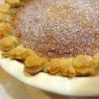 Baked Sunday Mornings: Buttermilk Pie
