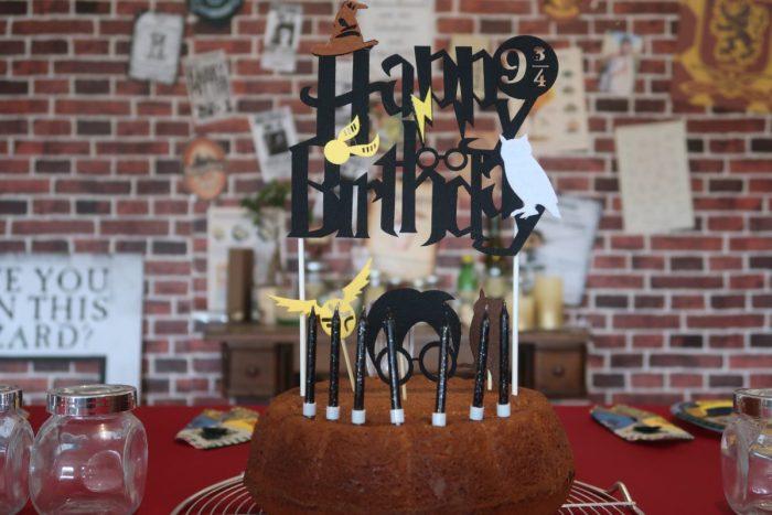 gâteau fête d'anniversaire Harry Potter anniversaire Harry Potter