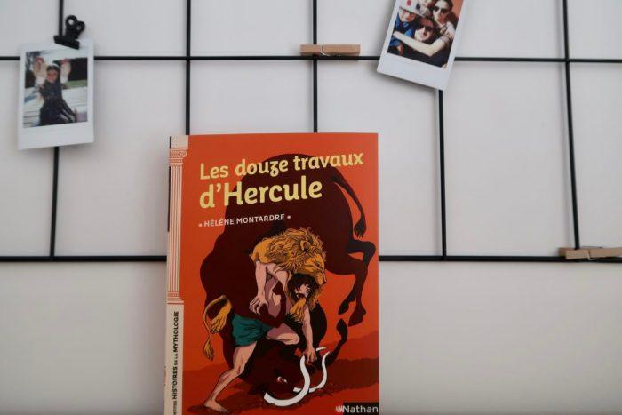 Les douze travaux d'Hercule, collection Petites histoires de la mythologie aux Éditions Nathan