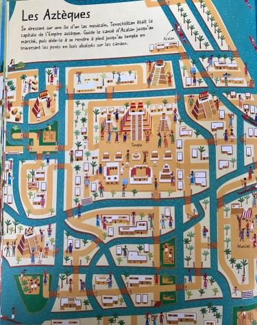 Le grand livre des labyrinthes A travers l'histoire , Éditions Usborne