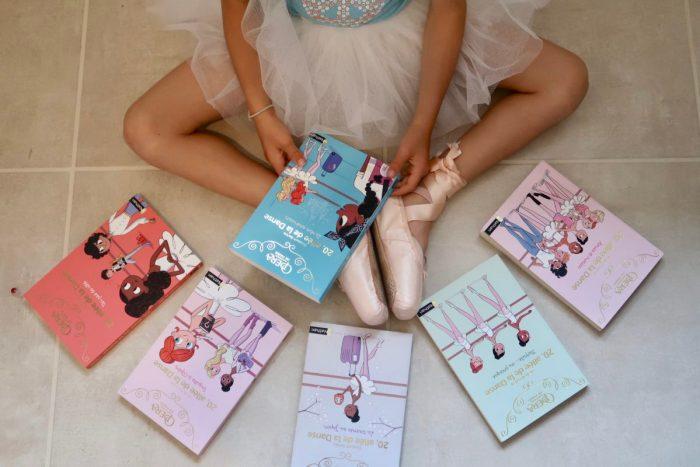 20,allée de la danse, Éditions Nathan. Livres jeunesse écrit en partenariat avec l'Opéra National de Paris.