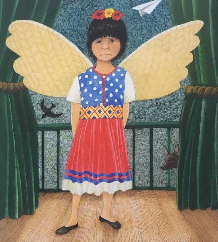 Album jeunesse Petite Frida, Anthony  Browne , aux éditions Kaléidoscope