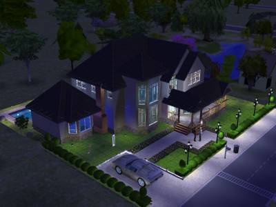Ideas For Houses In Sims 2 House And Home Design