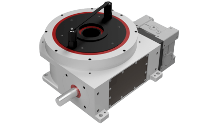 Servo driven dial indexer (SD-2) with overdrive clutch
