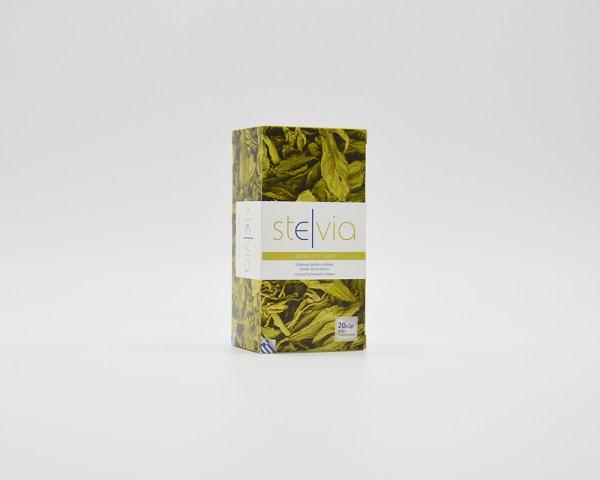 Ellhnika fylla stevias se fakelakia - Greek stevia leaves in sachets