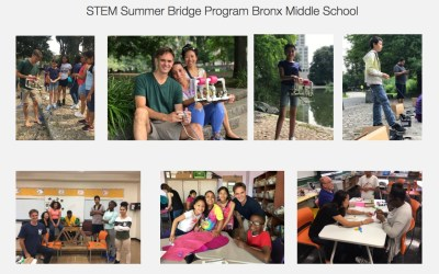 Apple Volunteers Support STEM 101 Schools in the Bronx
