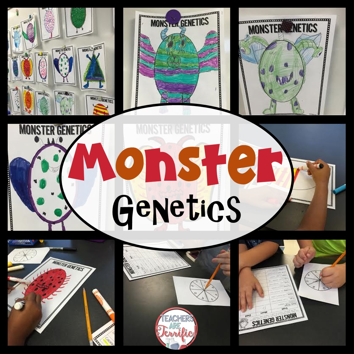 Genetics in the STEM Lab! - STEM Activities for Kids [ 1152 x 1152 Pixel ]
