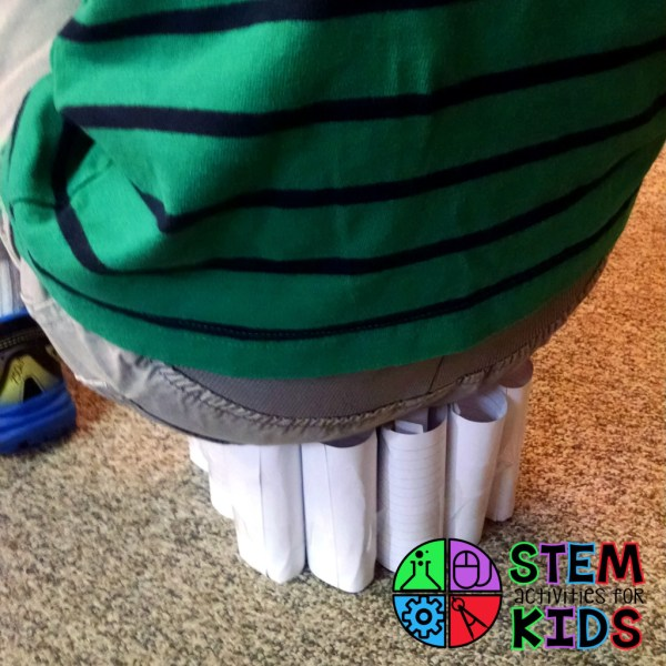 Index Card STEM Towers - STEM Activities for Kids