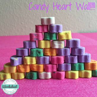 Candy Heart Wall