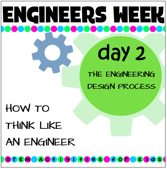 Teaching The Engineering Design Process Stem Activities For Kids