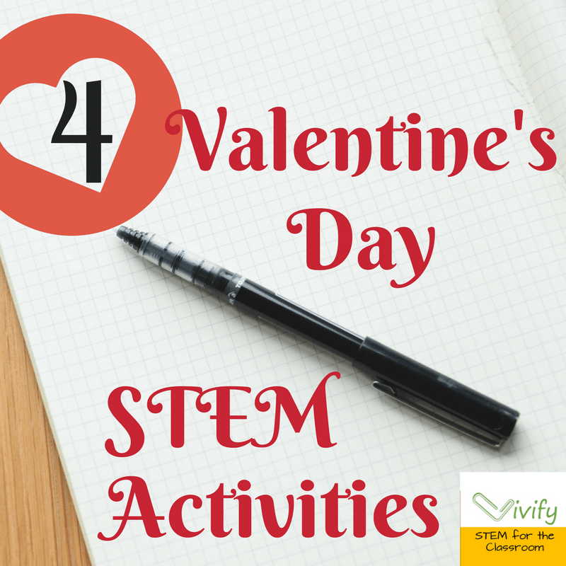 4 Valentine's Day STEM Activities