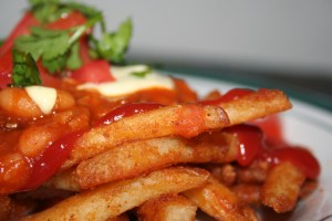 Chili cheese fries...teaser shot, recipe coming soon!