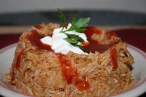 Latin Asian Fusion Rice