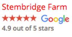 Stembridge Farm Certificated Location Google reviews