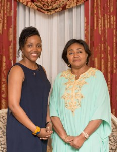 Denise Tshisekedi and Dr. Sandrine Mubenga, STEM DRC Iniative