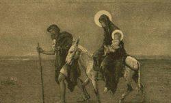 Menekülés Egyiptomba   A pusztában