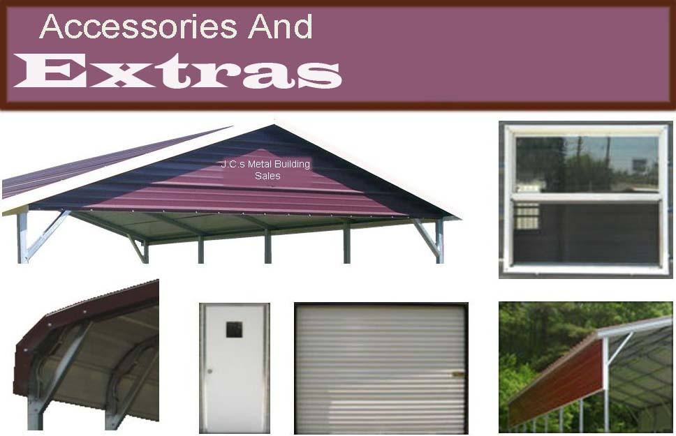 Accessories And Extras Metal BuildingsCarportsAluminum