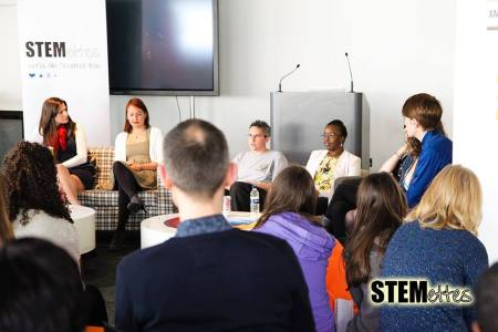 Stemettes Panel answer questions